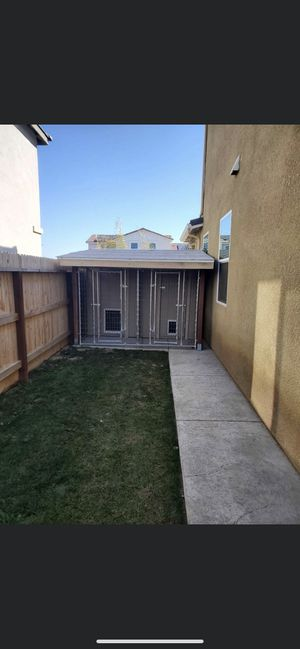 Custom dog kennel for Sale in Madera, CA