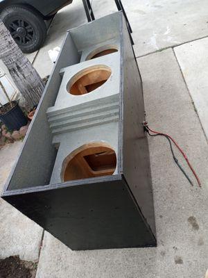 Custom speaker box for Sale in San Diego, CA