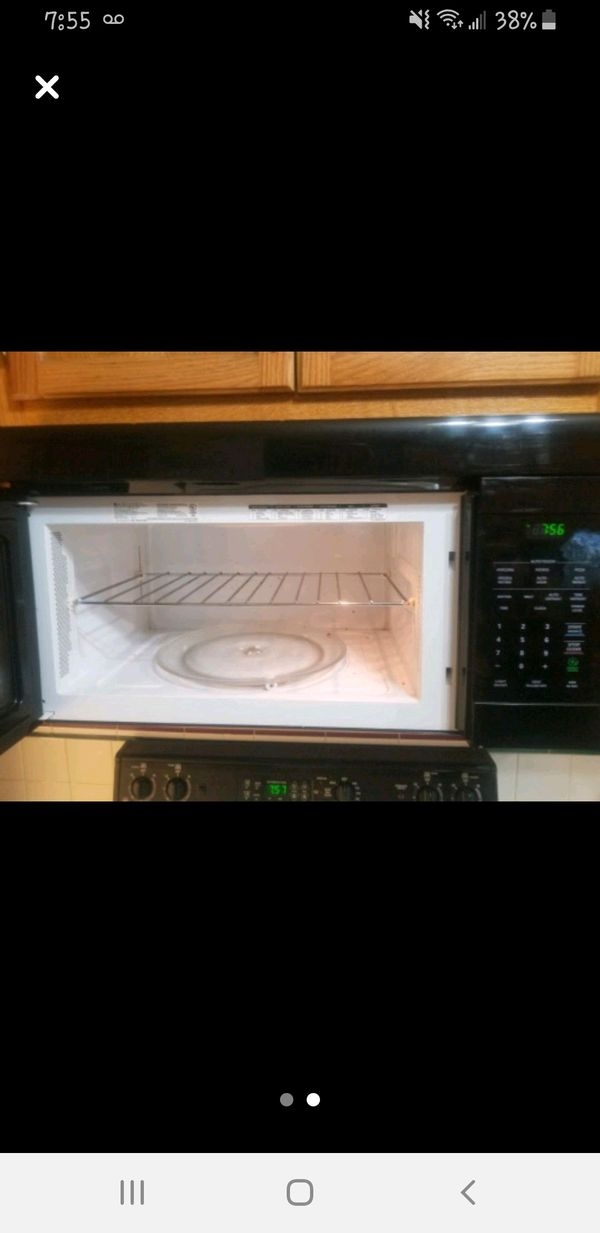 Over the range LG microwave