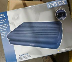 NIB - Intex Air Mattress Queen w/ pump for Sale in Tempe,  AZ