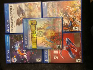 Ps4 Games Good Condition (Read Description 4 Individual Prices) for Sale in Riverside, CA