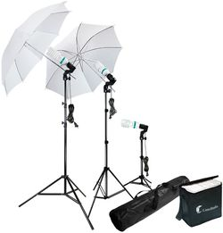 Continuous Lighting Kit Photo Portrait Studio 660W Day Light Umbrella, Ready for Pick Up for Sale in Chino,  CA
