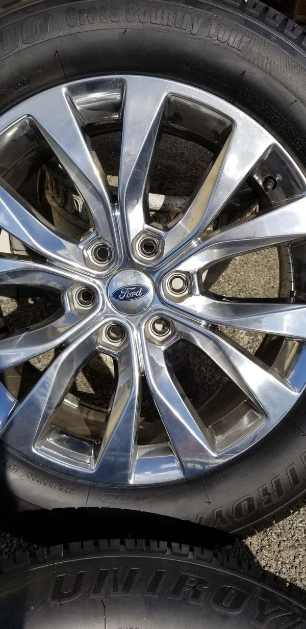 """Ford 20"""" Wheels w Brand New Tires - (Set of 4)"""