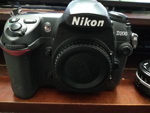 Nikon D200 and lenses (50mm 1.8, 28-80mm, 18-55mm x 2) for Sale in Elk Grove, CA