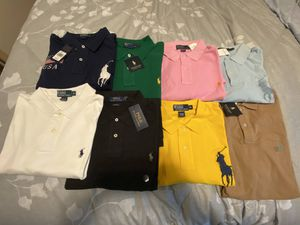 Brand New With Tags Polo Ralph Lauren Polos Shirts Big Pony 100% Authentic Size XL for Sale in Allen Park, MI