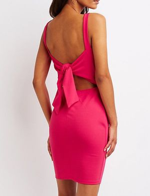 Hot pink dress medium for Sale in Mission, TX
