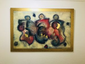 Wall decor, art, abstract painting for Sale in Hialeah, FL