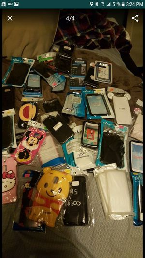 Cell phone accessories lot samsung iphone for store swapmeet for Sale in San Diego, CA