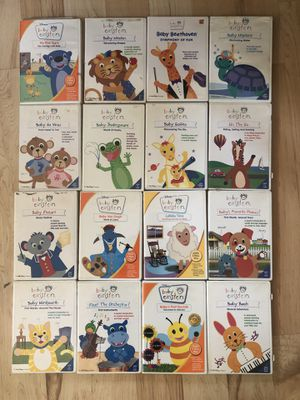 Baby Einstein DVD Series - 16 in set for Sale in Fresno, CA