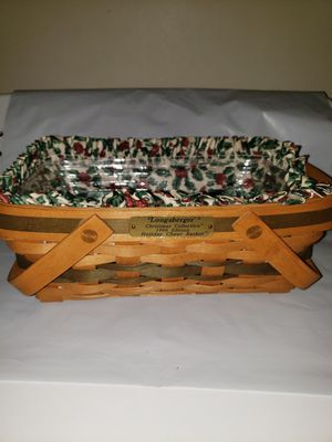 Longaberger Holiday Cheer Basket for Sale in Thomasville, PA