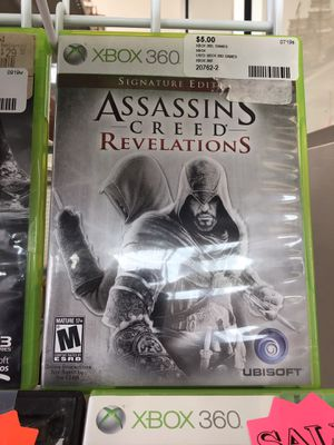 Assassin's Creed Revelations $5 (Rj Cash Pawnshop 2505 Nw 183rd St) for Sale in Miami Gardens, FL