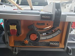 Ridgid portable table saw for Sale in Las Vegas, NV