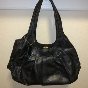 Black Coach Ergo Pleated satchel #12248 for Sale in Frisco, TX