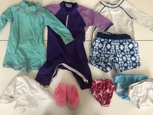 Baby Swim Clothes Lot - 0-6 months, includes new bucket hat pictures separately for Sale in New York, NY