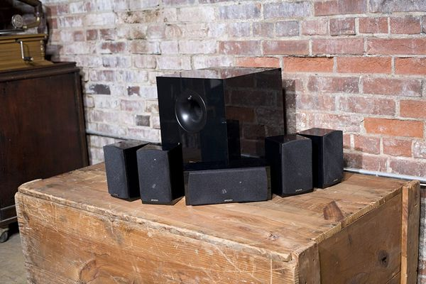 Energy 5.1 Take Classic Home Theater System -Black