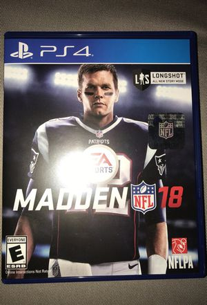 Madden 18 for Sale in Lake Stevens, WA