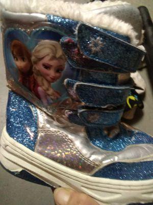 Frozen Girl's Boots for Sale in Waterloo, IA