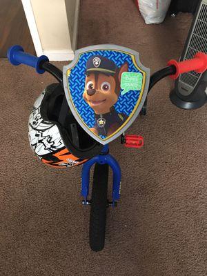 Kids bike with helmet for Sale in San Diego, CA