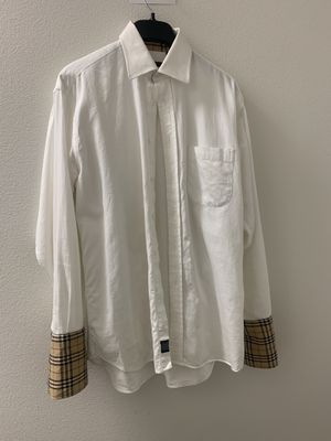 Burberry button up dress shirt for Sale in Chuluota, FL