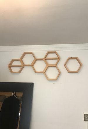 Custom made honeycomb shelving for Sale in San Francisco, CA