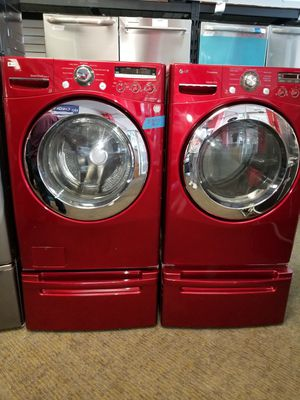 LG electric front load set washer and dryer in excellent condition for Sale in McDonogh, MD