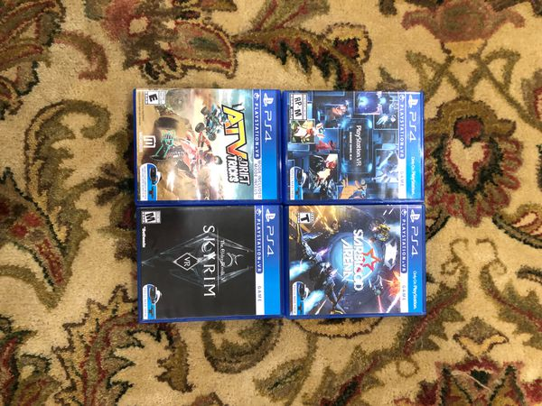 Play station VR games for 8$ each trades acceptable