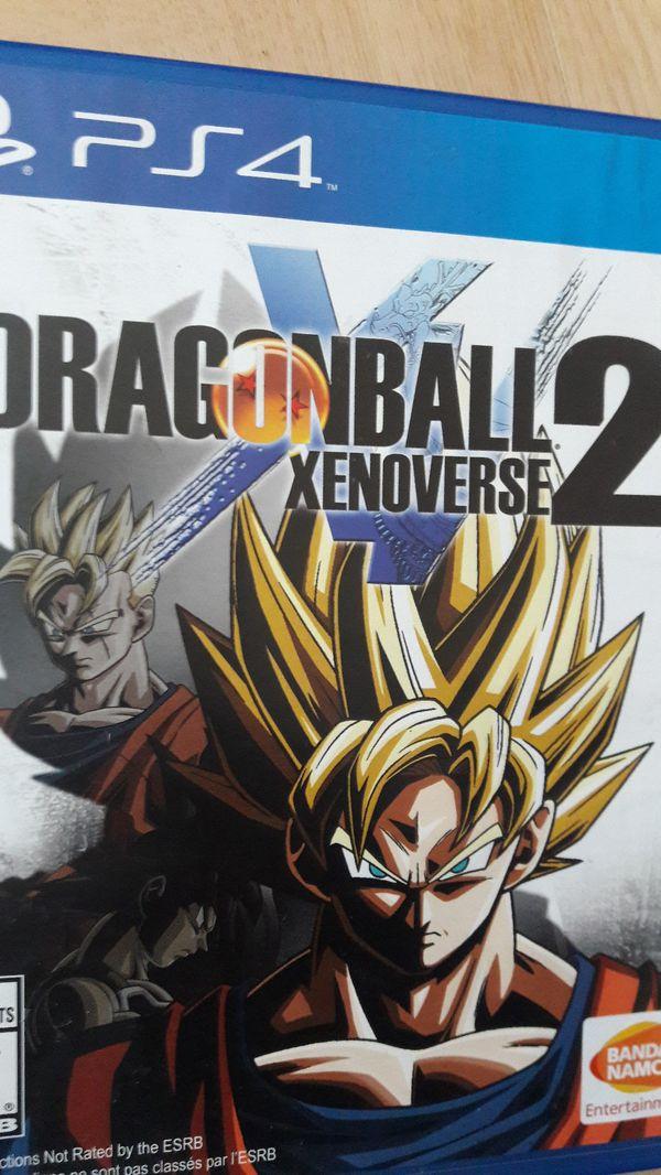 Ps4 games madden17 nba2k17 and Dragon ball xenoverse 2