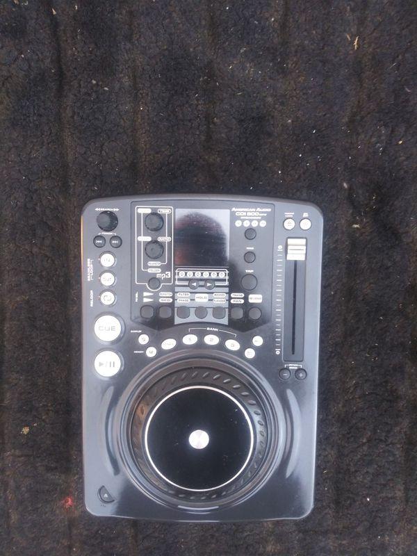 Dj equipment for cd
