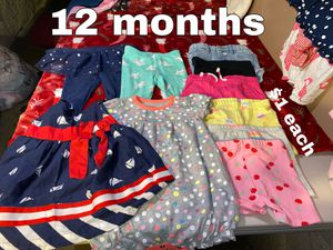12 months $1 each piece for Sale in Buena Park, CA