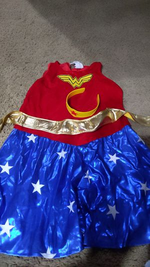 Girls Large Wonder Woman costume for Sale in Kent, WA