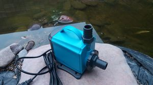 2 ×Waterfall pond pump 90 watts of power. Pond circulation pump  large aquarium fountain pump brand new. for Sale in Las Vegas, NV