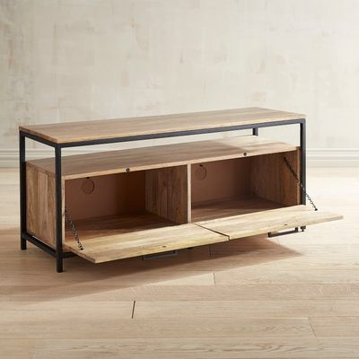 "Natural Mango Wood 49"" TV Stand"