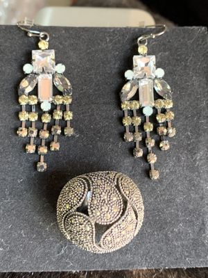 Set of earrings and ring for Sale in Miramar, FL
