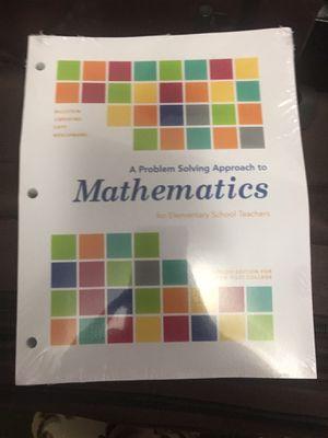 Math textbook for Sale in Garden Grove, CA