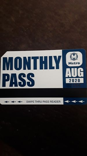 Month long metro pass for Sale in Belleville, IL