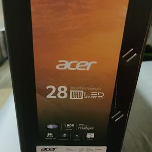 Acer 28 In 4k Gaming Monitor for Sale in Fort Worth, TX