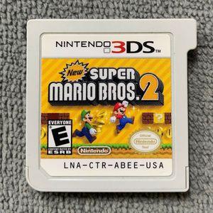 Super Mario bro's 2 Nintendo 3ds for Sale in Richardson, TX
