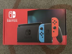 Nintendo Switch - BRAND NEW (Blue & Red) for Sale in Monterey Park, CA