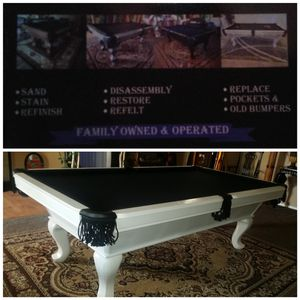 Pooltable moving for Sale in San Jacinto, CA