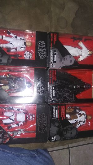 Star wars black series for Sale in Phoenix, AZ