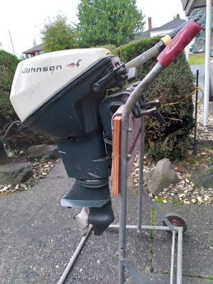 1971 Johnson 9.5hp short shaft outboard for Sale in Seattle, WA