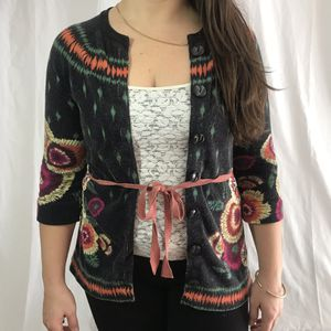 Sparrow Floral M Cardigan Embroidered for Sale in Seattle, WA