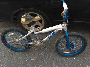 20 inch BMX bike Comes with other seat only $50 firm for Sale in MD, US
