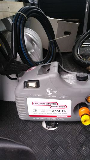 Pressure washer 1200 psi 115v. 2.0gpm for Sale in Puyallup, WA