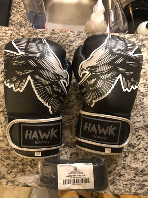Boxing set, 12oz gloves.. brand new dragon wraps for Sale in Gaithersburg, MD