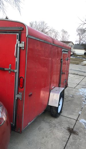 Enclosed utility trailer 6x12 for Sale in Hanover Park, IL