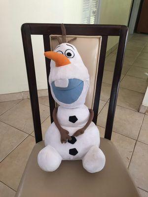 Olaf frozen plush for Sale in Miami, FL