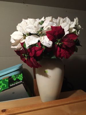 Artificial poinsettia plants for Sale in Hillsboro, OR