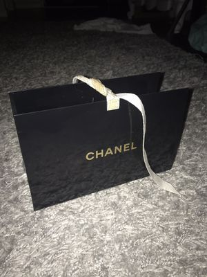 Chanel ribbon gift bag Only for Sale in Gulf Stream, FL