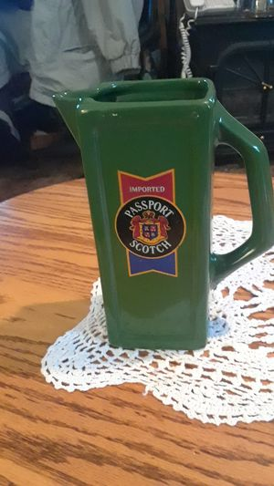 imported passport scotch pitcher for Sale in Klamath Falls, OR